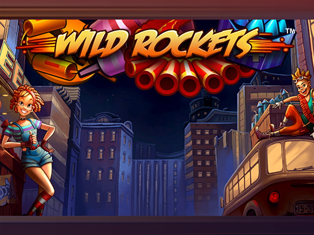 Игровой аппарат Wild Rockets в демо-режиме